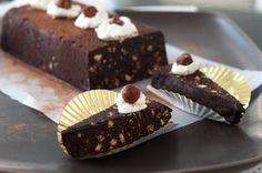 Gianduiotto (chocolate-hazelnut ice box cake) from Turin, Italy