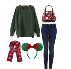 Get Out Of That Park Style Rut: Cold Weather Edition - Meant for the Disney parks, but nix the Minnie Ears, and I think this can work for a regular winter outfit.