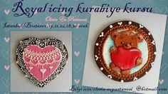 Kurabiye kursu İstanbul/royal icing cookies