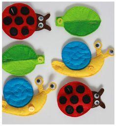 Handmade by mom: Toys made of felt ...