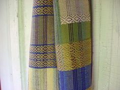 sugar maple scarf / 2 by Avalanche Looms, via Flickr