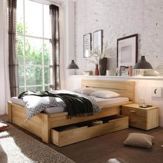 The Real Reason Behind Betten Mit Berlin Apartment, Apartment Living, Types Of Beds, Types Of Wood, Tv Beds, Water Bed, Pretty Bedroom, Mattress Covers, Recycled Furniture