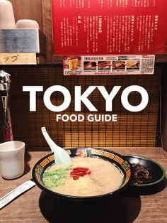 Tokyo, Japan is the food capital of the world. Japanese cuisine is very  diverse, be adventurous and try something new! Here's a list of 10  essential food entrees you should try when visiting Tokyo, Japan.