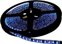 Blue L.E.D Light STRIP 600 1-Chip. 5 meter Light Strip on reel. 3M adhesive on the back.
