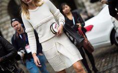 White dressed