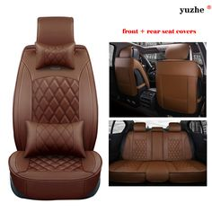 Yuzhe Leather Car Seat Cover For Buick Encore Envision Enclave Regal Lacrosse Park Avenue 2015 Accessories Styling Cushion