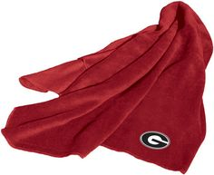 NCAA Georgia Fleece Throw