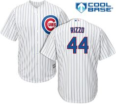 Anthony Rizzo Chicago Cubs Home Toddler Cool Base Jersey by Majestic  #ChicagoCubs #Cubs #AnthonyRizzo