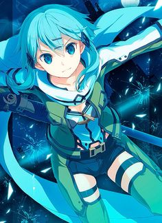 Browse Sword Art Online Sinon GGO collected by Pedro Suarez and make your own Anime album. Asuna, Sinon Ggo, Otaku, Arte Online, Online Art, M Anime, Kawaii Anime, Tous Les Anime, Asada Shino