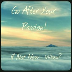 New Cover for the 'Go After Your Passion' Podcast!
