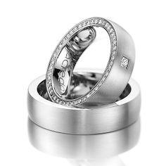 La alianza perfecta: Platino #boda #alianzas