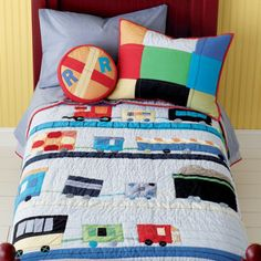 Twin Quilt (Trains)