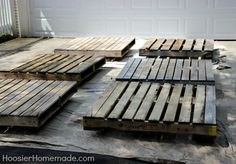 How To Build A Wood Pallet Deck