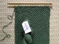 Cute easy infinity scarf pattern