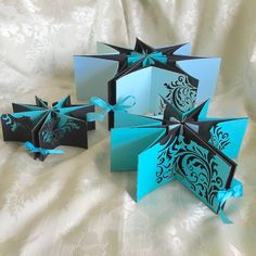 #starbook #swarovski #blue #black #bookbinding #Tim Holtz