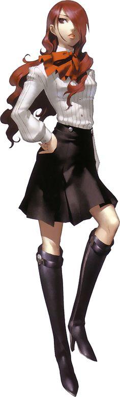 Mitsuru Kirijo - Persona 4 Arena