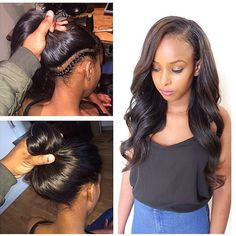 STYLIST FEATURE| Absolutely love this #versatile sew in❤️done by #LondonStylist @Philiperichair with @Laroshhair Looks so natural#VoiceOfHair