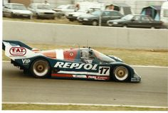 1991 Porsche 962 C  Porsche (4.429 cc.) (T)  Oscar Larrauri  Jésus Pareja Mayo  Walter Brun