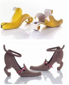 Shoes That Can Also Be Art Funky Shoes Crazy Shoes Me Too Shoes