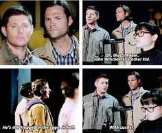 [gifset] 10x05 Fan Fiction #SPN #Dean #Sam THIS SCENE WAS DONE FLAWLESSLY AND HILARIOUSLY