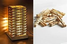 Fabulous Diy Lamp Shade Diy Clothespin Lampshade Diy Projects to Lamp Shades Diy Diy Luz, Craft Tutorials, Diy Projects, Craft Ideas, Project Ideas, Decorating Ideas, Luminaria Diy, Diy Luminaire, Diy Casa