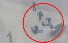 Συλλήψεις υπόπτων έξω από σταθμό Μετρό στις Βρυξέλλες (φωτο)
