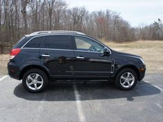 CERTIFIED 2012 Chevrolet Captiva LTZ $24,764  stock number: PA1388  drive wheels: AWD  engine: 3.0L 6 cyl Fuel Injected  transmission: Automatic  exterior: Black Granite  vin: 3GNFL4E57CS619096  mileage: 18,094