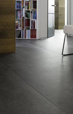 CERAMAX XXL-Fliesen für den Boden. 100 x 300 cm. CERAFLOOR, Design SOLID ROCK 04.20.