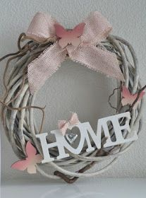 Stampin' Up! - Lilly is Love Autumn Wreaths, Christmas Wreaths, Etsy Wreaths, Diy And Crafts, Arts And Crafts, Welcome Wreath, Diy Home Decor Projects, Diy Door, Summer Wreath