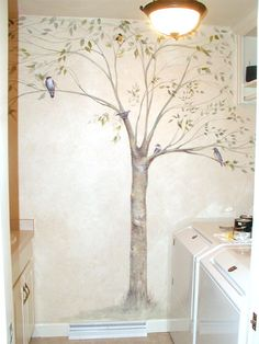Ideas for Mural at Church, Chidren's and Preschool: Shelly Grund Tree Mural
