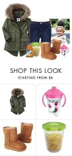 """babygirl🎀"" by wavyjai ❤ liked on Polyvore featuring Old Navy, Gymboree, Tervis, UGG Australia and Gerber"