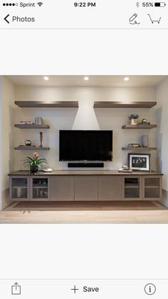 Diy entertainment center built in brown and turquoise living room ideas built in entertainment center living . diy entertainment center built in Contemporary Entertainment Center, Floating Shelves Entertainment Center, Living Room Entertainment Center, Entertainment Center Decor, Entertainment Fireplace, Entertainment System, Living Room Turquoise, Muebles Living, Ikea Living Room