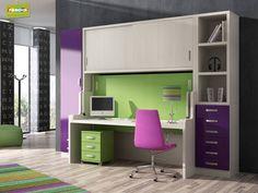Escritorios juveniles: el mejor espacio de trabajo #escritorios #decoracion https://www.homify.es/libros_de_ideas/60990/escritorios-juveniles-el-mejor-espacio-de-trabajo