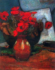 Poppies, c 1907 Wladyslaw Slewinski