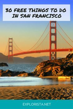 Don't miss this list of 30 free things to do in San Francisco! explorista.net