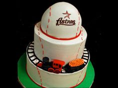 This is an AWESOME idea for a Houston Groom's cake!
