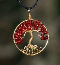 This tree of life pendant is another piece that makes me smile.