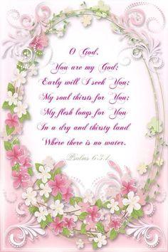 PSALMS 63:1