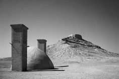 http://runngunmuc.tumblr.com/post/123675777965/zoroastrian-towers-of-silence-dakhme-yazd
