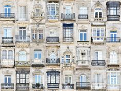 Andre Vicente Goncalves - Windows of the World - Europe - Spain - Vigo British Architecture, Architecture Details, World Photography, Photography Gallery, Patio Grande, Mexican Hacienda, Amsterdam Houses, Iron Balcony, Goncalves