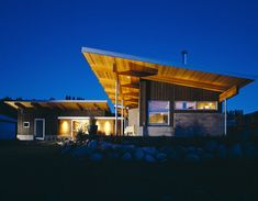 I love the skillion roof, the broad verandahs and the simple layout