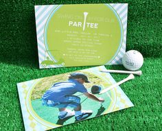 Cool + Classic Golf PAR-TEE {Kids Birthday}