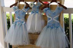 Cinderella tutu hair bow holders by BrileysBows on Etsy, $20.00