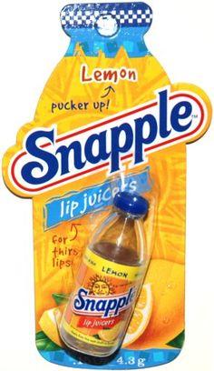 Amazon.com: Snapple Lip Juicers, Lemon Flavored Lip Balm (1 Each): Health & Personal Care