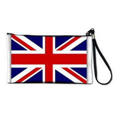 Artsmith, Inc. Clutch Bag Purse (2-Sided) British English Flag HD ♥
