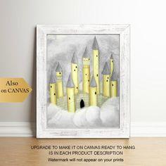 image 0 Baby Wall Art, Art Wall Kids, Nursery Wall Art, Girl Nursery, Nursery Decor, Princess Wall Art, Princess Nursery, Fantasy Princess, Wall Art Prints