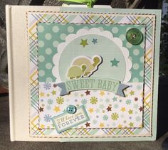 Artsy Albums Scrapbooking Kits and Custom Designed Scrapbook Albums by Traci Penrod: Echo Park Bundle of Joy Baby Album Kits