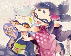 Awww there so cute as little kids (not my art all rights go to the original artist)
