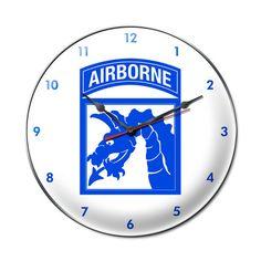 18th Airborne Division Clock