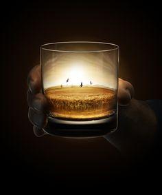 Powers Whiskey by Yoke Productions , via Behance